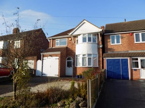 Thumbnail Detached house for sale in Springfield Crescent, Sutton Coldfield, West Midlands