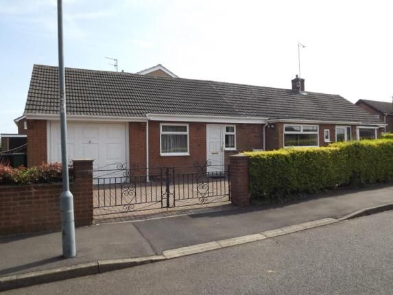2 bedroom bungalow for sale in Glade Close, Chesterfield, Derbyshire