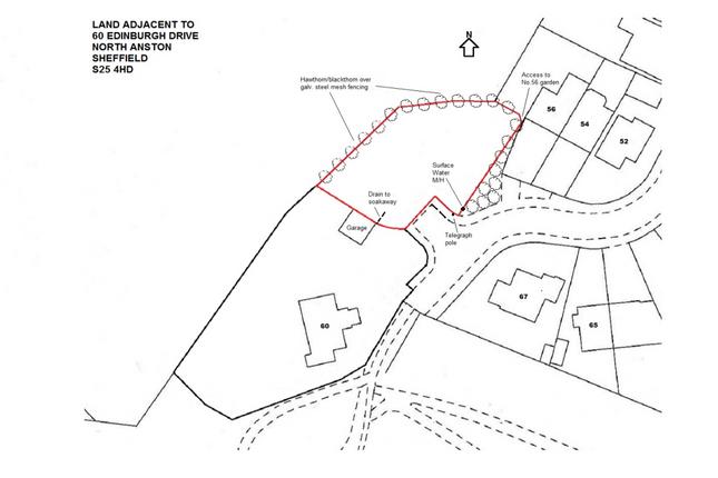 Plans of Edinburgh Drive, North Anston, Sheffield S25