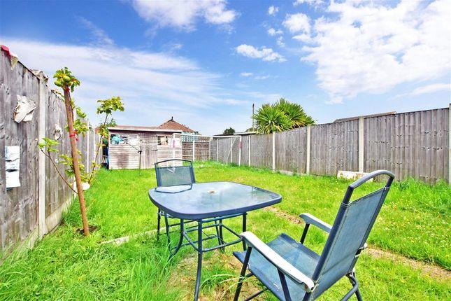 Rear Garden of Edmund Road, Rainham, Essex RM13