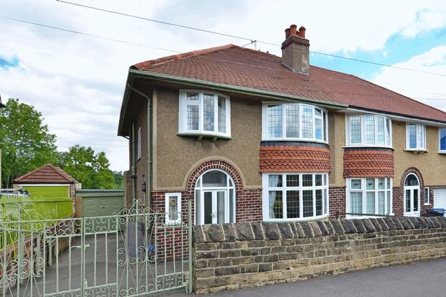 Thumbnail Semi-detached house for sale in Carter Knowle Road, Carter Knowle, Sheffield