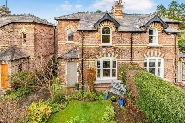 Thumbnail Semi-detached house for sale in Bow Green Road, Bowdon, Altrincham