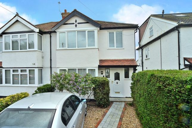 Thumbnail Semi-detached house for sale in Ray Road, West Molesey