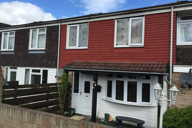 Thumbnail Terraced house to rent in Mullins Close, Basingstoke