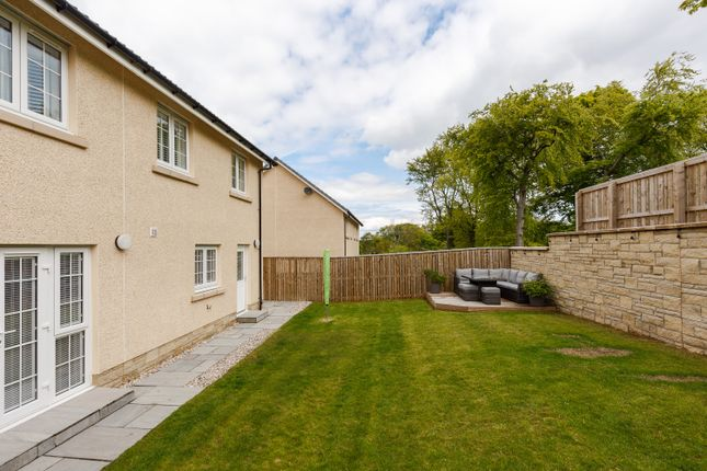 Rear Garden  of King's View Crescent, Ratho EH28