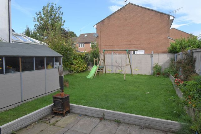Rear Garden of Clovelly Place, Newton, Swansea SA3
