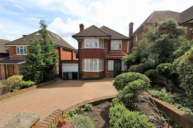 Thumbnail Detached house for sale in The Paddocks, Wembley