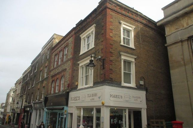 Thumbnail Flat to rent in High Street, Gravesend