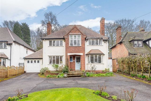 Thumbnail Detached house for sale in Walsall Road, Little Aston, Sutton Coldfield