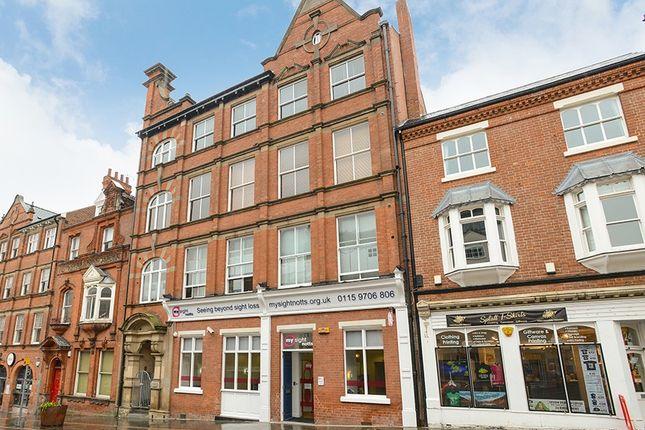 Thumbnail Flat for sale in 26-30 Heathcoat Street, Nottingham