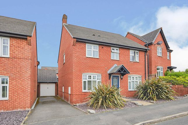 4 bed detached house for sale in Arliston Drive, Woodville, Swadlincote, Derbyshire DE11
