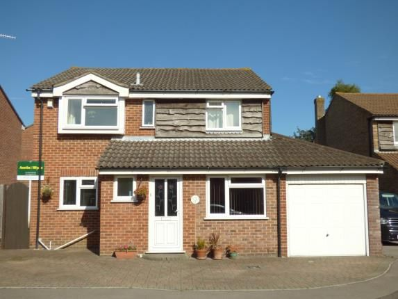 Thumbnail Detached house for sale in Halstock Crescent, Poole