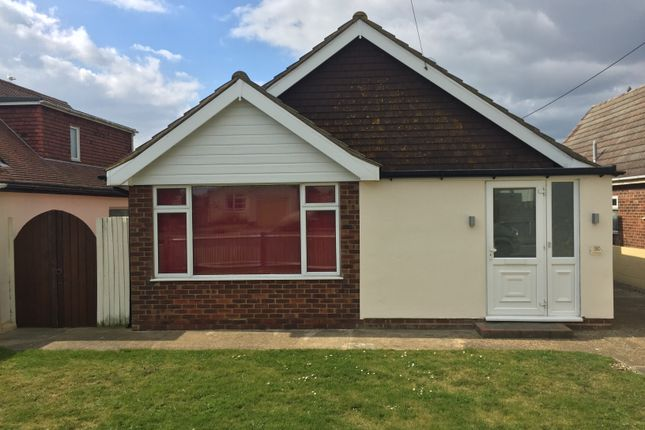 Thumbnail Bungalow for sale in The Parade, Greatstone, New Romney