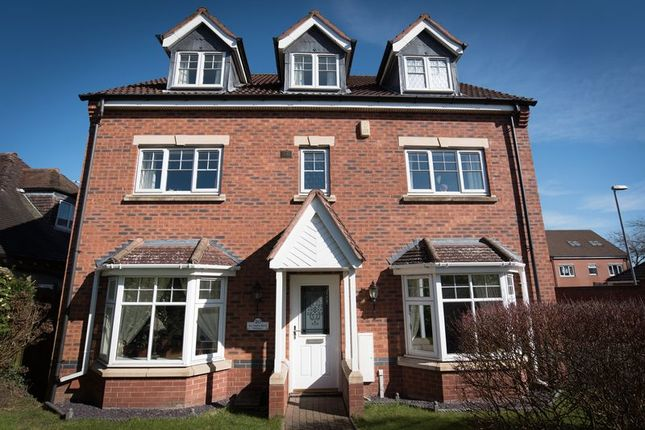 Thumbnail Detached house for sale in Lea Green Drive, Wythall, Birmingham