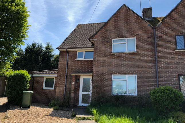 Thumbnail Semi-detached house to rent in Fleming Road, Winchester