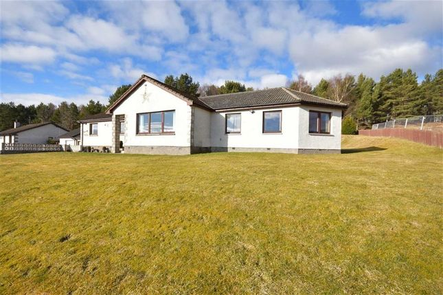 Thumbnail Detached bungalow for sale in Revoan Drive, Grantown-On-Spey
