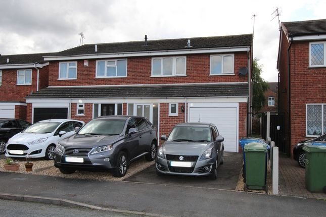 Thumbnail Semi-detached house to rent in Glascote, Tamworth