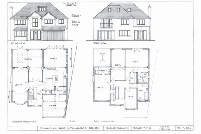 Planning Page 3 of Maney Hill Road, Sutton Coldfield B72
