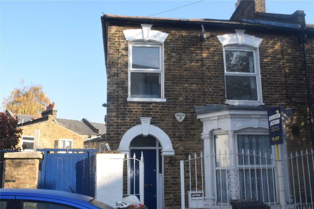 Thumbnail End terrace house to rent in Barlborough Street, New Cross Gate, London