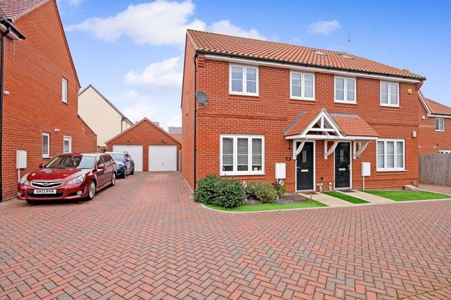 3 bed semi-detached house for sale in Stamford Drive, Dunton Fields, Laindon SS15