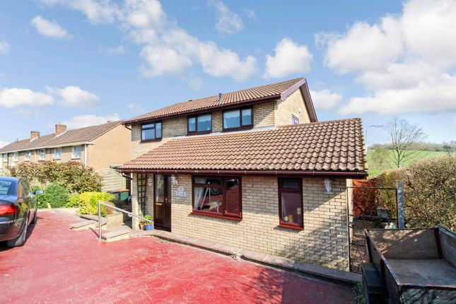 Thumbnail Detached house for sale in Routes View, Llanwern, Newport