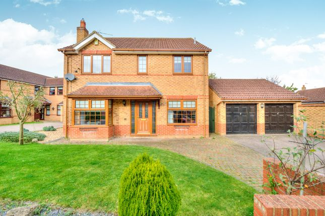 Thumbnail Detached house for sale in Curzon Place, Old Farm Park, Milton Keynes