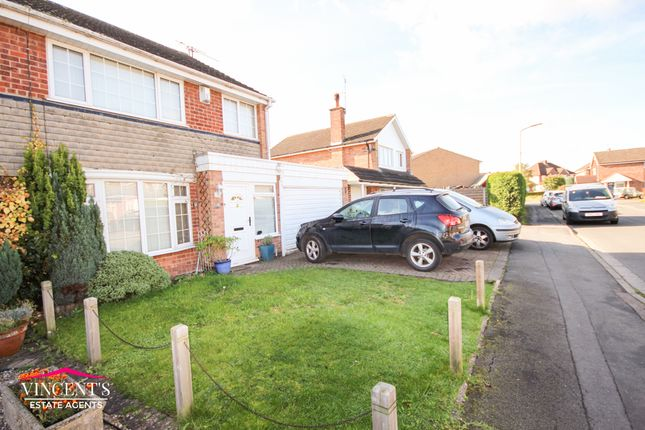 Thumbnail Semi-detached house for sale in Boyers Walk, Leicester Forest East