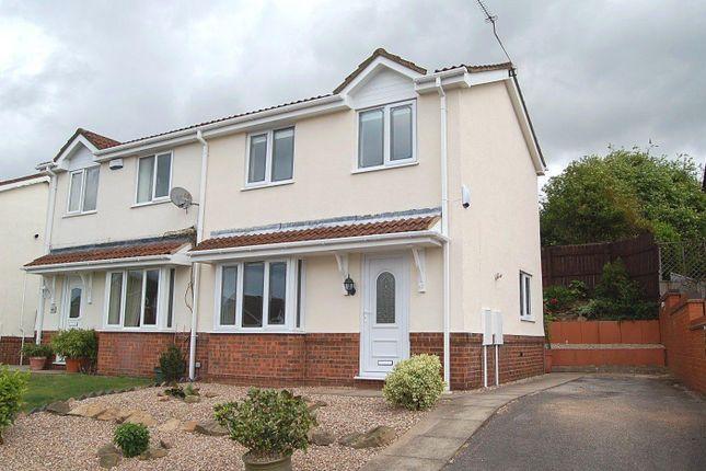 Thumbnail Semi-detached house to rent in Danebridge Crescent, Oakwood, Derby