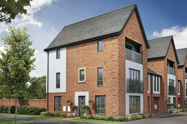 "Thumbnail Town house for sale in ""The Maple"" at Shipley Mews, Hampton Gardens, Peterborough"