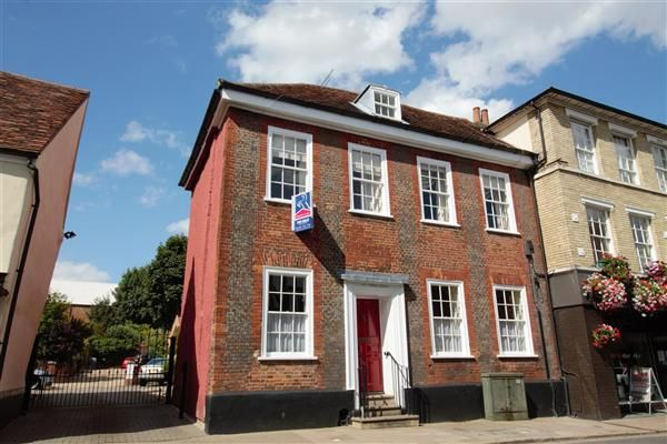 Thumbnail Town house for sale in Churchgate Street, Bury St. Edmunds