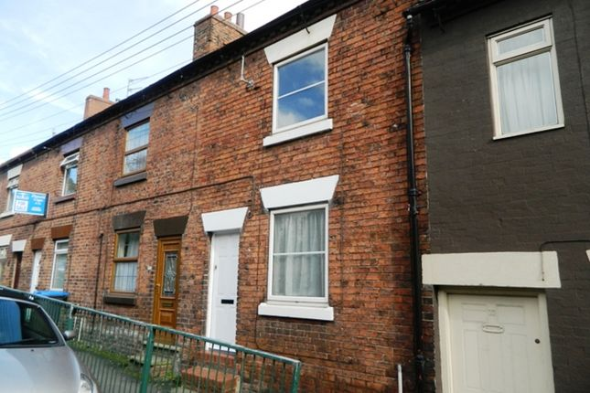 Thumbnail Terraced house to rent in Leek Road, Cheadle