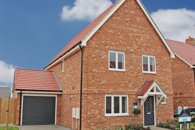 Thumbnail Detached house for sale in Grace Crescent, Hardwick, Cambridge