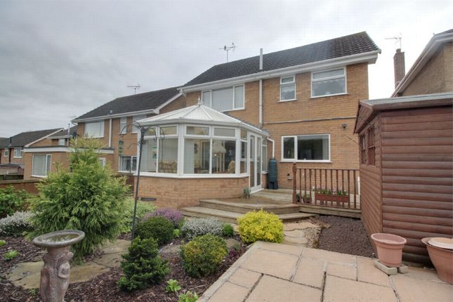 Thumbnail Detached house for sale in Manvers Crescent, Edwinstowe, Mansfield, Nottinghamshire