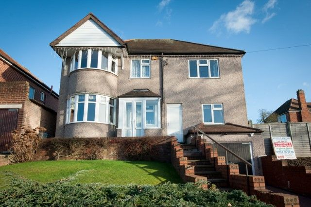 Thumbnail Detached house for sale in Plants Brook Road, Sutton Coldfield
