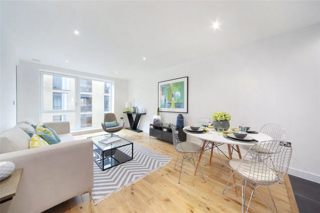Thumbnail 2 bed flat to rent in Francis House, 25 Eltringham Street, The Schoolyard, Wandsworth