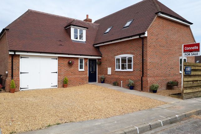 Thumbnail Detached house for sale in Beech Close, Penton Harroway, Andover
