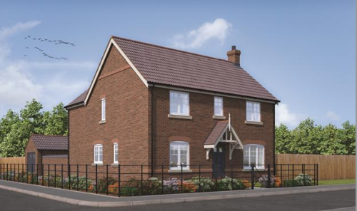 Thumbnail Detached house for sale in Willoughby Road, Alford, Lincoln