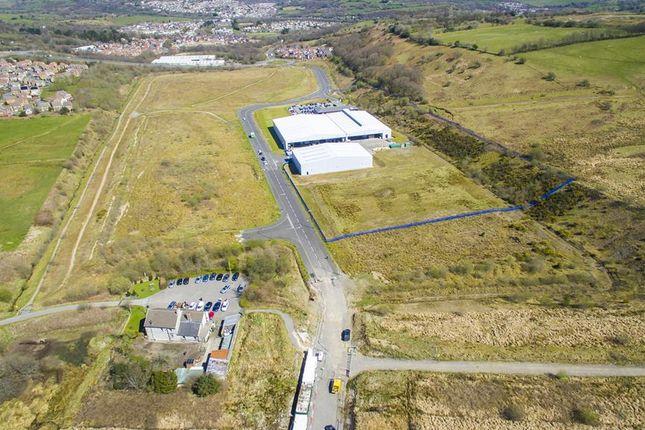 Thumbnail Land for sale in Prime Development Sites, Parc Eirin, Tonyrefail