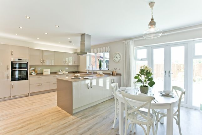 "Thumbnail Detached house for sale in ""The Highclere"" at Tile Barn Row, Woolton Hill, Newbury"