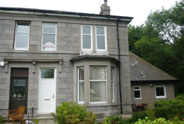 Thumbnail Terraced house to rent in St. Devenicks Terrace, Cults, Aberdeen