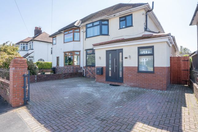Thumbnail Semi-detached house for sale in Burnfort Road, Newport