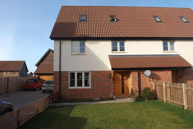 Thumbnail Semi-detached house for sale in Burlingham Road, East Harling