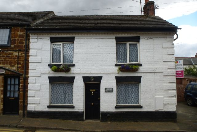 Thumbnail End terrace house for sale in High Street, Ringstead, Kettering
