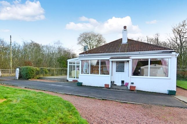 Thumbnail Detached bungalow for sale in Woodlea Cottage, Seven Acres, Old Glasgow Road, Kilwinning