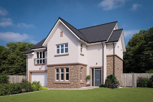 "Thumbnail Detached house for sale in ""The Logan"" at Davidston Place, Lenzie, Kirkintilloch, Glasgow"