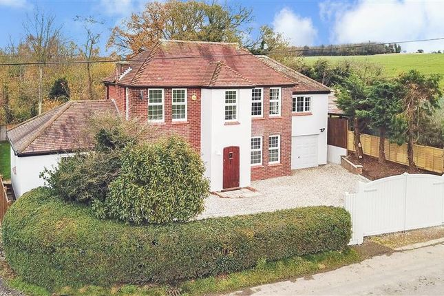 Thumbnail Detached house for sale in Wick Lane, Woolage Green, Canterbury, Kent