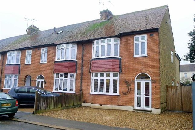 Thumbnail End terrace house for sale in Chada Avenue, Gillingham