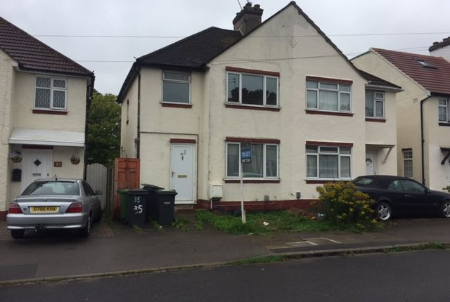 Thumbnail Semi-detached house to rent in Weatherby Road, Luton