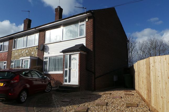 Thumbnail Semi-detached house to rent in Old Gosport Road, Fareham