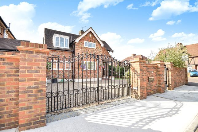 Thumbnail Detached house for sale in Morelle, Orchard View, Uxbridge, Middlesex
